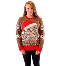 SWORLD Womens Snowflake Moose Holiday Sweater Pullover Jumper Tops