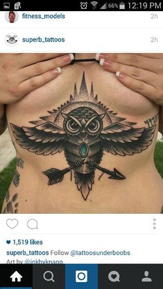 e42134724c4d8 There are already numbers of Underboob Tattoos Designs for women prevailing  in the markets which have gained much popularity.