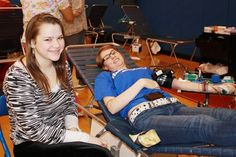 From Newsday.com: Goshen High School held its 35th Annual Blood Drive and Bone Marrow Registry and collected 300 units of blood, with at least 140 units donated by students. GHS was the first high school in the US to hold a blood drive.