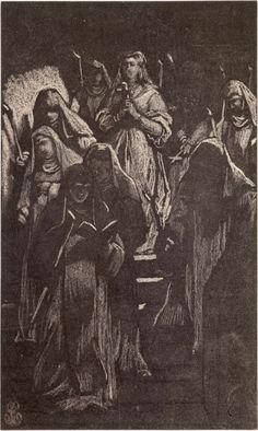 Robert Jefferson Bingham | Fotoreproductie van tekening door Paul Delaroche: la Cenci marchant au supplice, Robert Jefferson Bingham, Goupil & Cie, 1858 |