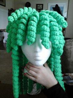 Curly Q Hat Stuff I Made Creative Crochet By Helen