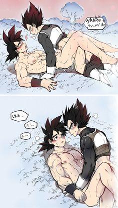 Dragonball gay hentai