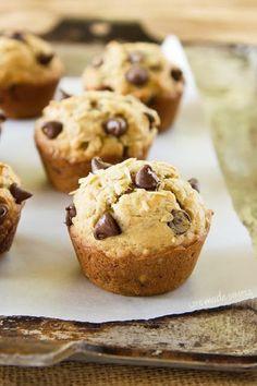 Oatmeal Chocolate Chip Banana Muffins
