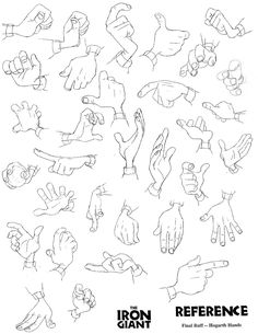 """gentrybentley: """" puppytube: """" Milt Kahl drew lovely hands as well! """" bless you """" My god I might just blog hands forever."""