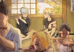 Flute lessons Mitsuki and Boruto #Naruto