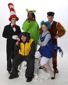 Cat in the Hat, Horton, Sour Kangaroo, Gertrude, Wickersham - Seussical Rental from $39-53 per costume