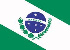 Bandeira do Estado do Paraná - Brasil
