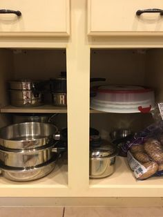 De-clutter Your Pots