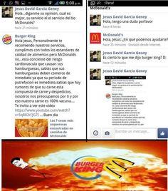 Desatando la guerra de comida rápida