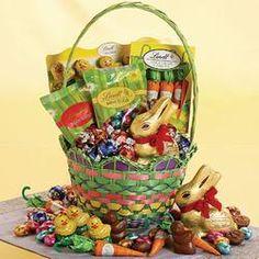 Lindt Easter Basket - Gift Baskets  $49.99 #pintowingifts