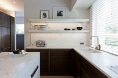 Marble splash with solid surface Obumex | Kitchen Interior Furniture Outdoor Professional