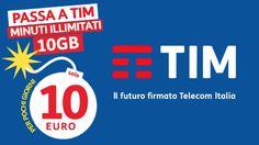 TIM prova a conquistare i clienti Wind, Tre, PosteMobile e Fastweb offrendogli TIM Ten Go: minuti illimitati e 10 Giga in 4G a 10 euro ogni 4 settimane.