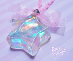 Pastel Galaxyz — ♡ ☆Holographic Stars are back! These babies are so. Kawaii Jewelry, Kawaii Accessories, Cute Jewelry, Uv Resin, Resin Art, Magical Jewelry, Resin Charms, Coque Iphone, Fantasy Jewelry