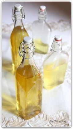 The Italian Dish - Posts - How to Make Homemade Limoncello  this looks delis ......... vodka infused with the essence of lemons and sweetened with a little sugar syrup. yum