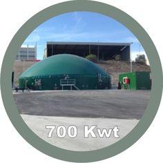 planta de biogas ESTRELLA LEVANTE 700kw