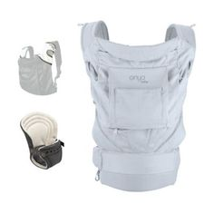 The Onya Baby Cruiser Bundle Baby Carrier has everything a parent could want. Ready for use with a newborn and easily adjustable as your baby grows. Extremely comfortable for both your baby and you, this carrier features a unique hidden, built-in seat.  buybuyBaby.com $149.99