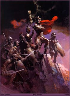 Frank Frazetta who was one of the most iconic American fantasy, science fiction and comics artists, has passed away today at the age of Frank Frazetta, Illustrations, Illustration Art, Die Füchsin, Comic Kunst, Conan The Barbarian, Boris Vallejo, Red Sonja, Sword And Sorcery