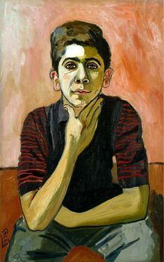 "olympie:  ""Alice Neel, Michael, 1956  """