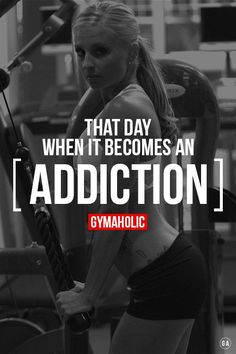 ....and that day comes out of the blue! gym // workouts // weight training // health and fitness // strength // muscle // fat loss // motivation // healthy addiction