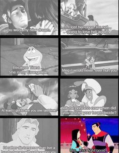 not every disney guy can be romantic :b