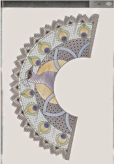 Archivo de álbumes Scrap Quilt Patterns, Bobbin Lace Patterns, Crochet Collar, Lace Collar, Bobbin Lacemaking, Yarn Thread, Lace Jewelry, Tatting Lace, Needle Lace