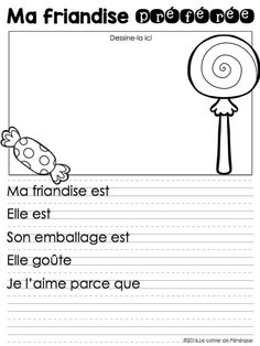 Literacy Games, Writing Activities, Teaching French Immersion, High School French, French Teaching Resources, French Worksheets, Core French, French Education, French Classroom