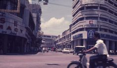 Downtown Cebu. 1973 Philippines Cebu, Cool Photos, Interesting Photos, Street View, History, Country, City, Travel, Queen
