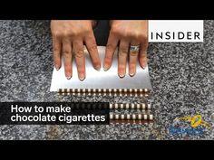 Como são feitos os palitinhos de chocolate? | Comendo com os Olhos
