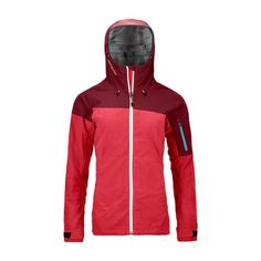 Ortovox Corvara Jacket Women - Sport-Ski Willy OG Girly Things, Girly Stuff, Sports Women, Skiing, Hooded Jacket, Rain Jacket, Windbreaker, Jackets For Women, Zip
