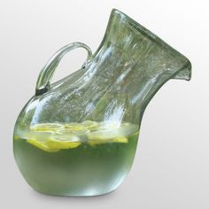 Find it at the Foundary - Large Glass Tilted Pitcher. SO neat!