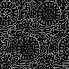 This listing is for a half or full yard of a gorgeous black floral blender from P&B Textiles. Cut from the bolt. 100% high quality cotton
