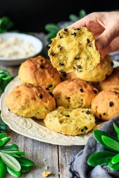 Looking for an authentic British dessert? Try these traditional Cornish saffron buns—bright yellow, flaky rolls packed with currants. Saffron Buns Recipe, Saffron Cake, Homemade Yeast Rolls, British Desserts, British Recipes, Bakery Recipes, Bread Recipes, Breakfast Dessert, Breakfast Pastries