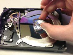 Sew What, Sherlock | Take Apart a Hard Drive for Craft Parts | http://www.sewwhatsherlock.com