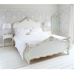 Provencal Sassy White French Bed from The French Bedroom Company. Shop more products from The French Bedroom Company on Wanelo. French Style Bedroom, Furniture, Beautiful Bedrooms, Home, Bedroom Inspirations, Bedroom Furniture, Country Bedroom, Bedroom Design, French Bedroom