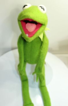 1976 Kermit the Frog Fisher Price 850 Stuffed Plush Muppets Jim Henson