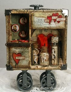 Anne's paper fun: A Compendium of Curiosities 2 configurations box