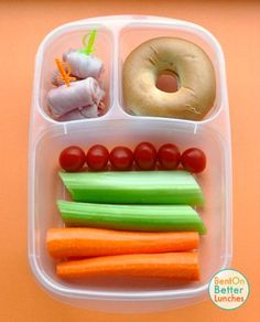 Fun picnic lunch ideas by Bent On Better Lunches