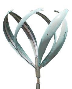 Mark White Kinetic Wind Sculptures | Poppy Kinetic Wind Sculpture by Mark White