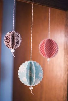 lily bee: Christmas Ornaments