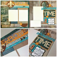 Scrap with Sue: June Club Kit - Timberline