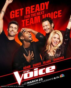 #TeamShakira One month until the season premiere of @The Voice NBC! / Un mes para el estreno de @The Voice NBC!!! :D