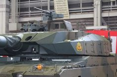 Global Military Review: New Images of The Japanese Type 10 Main Battle Tank (MBT)
