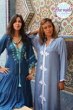 Kaftan Soraya・Kaftan Hind・Moroccan Blue Palace lookbook
