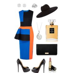 A fashion look from October 2014 featuring Roksanda Ilincic dresses, Christian Louboutin pumps and Henri Bendel wallets. Browse and shop related looks. Louboutin Pumps, Christian Louboutin, Roksanda, October 2014, Henri Bendel, Wallets, Fashion Looks, Shoe Bag, Chic