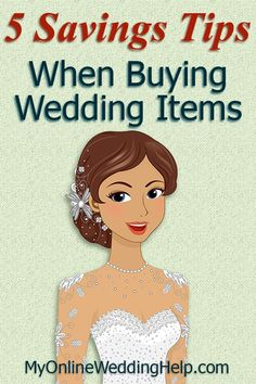 5 Wedding Ping Ideas Tips To Save Money