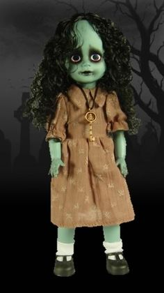 Living Dead dolls- I own this one. I have so many creepy stories about her. My mom has to keep her in her bedside table because if I have her in my room, I will cry.