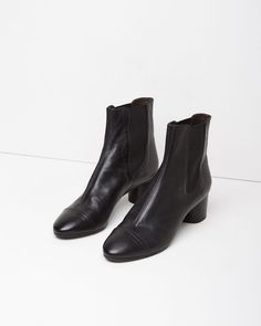 ISABEL MARANT | Danae Leather Boot | Shop at La Garçonne
