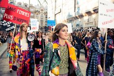 We joined in the protest. Duh. http://www.thecoveteur.com/chanel-springsummer-2015/?hvid=3wx4wR