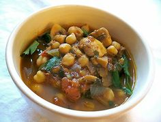 Kashmiri Chickpeas with Mushrooms   Lisa's Kitchen   Vegetarian Recipes   Cooking Hints   Food & Nutrition Articles