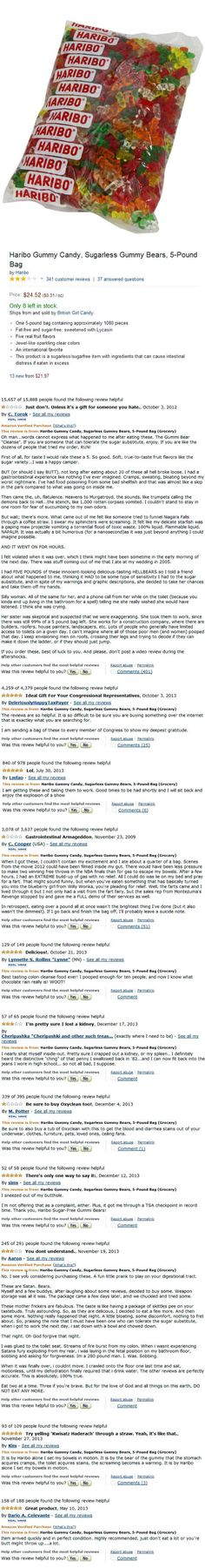 i was actually doubled over in laughter at the reviews, and dont stop after the first one